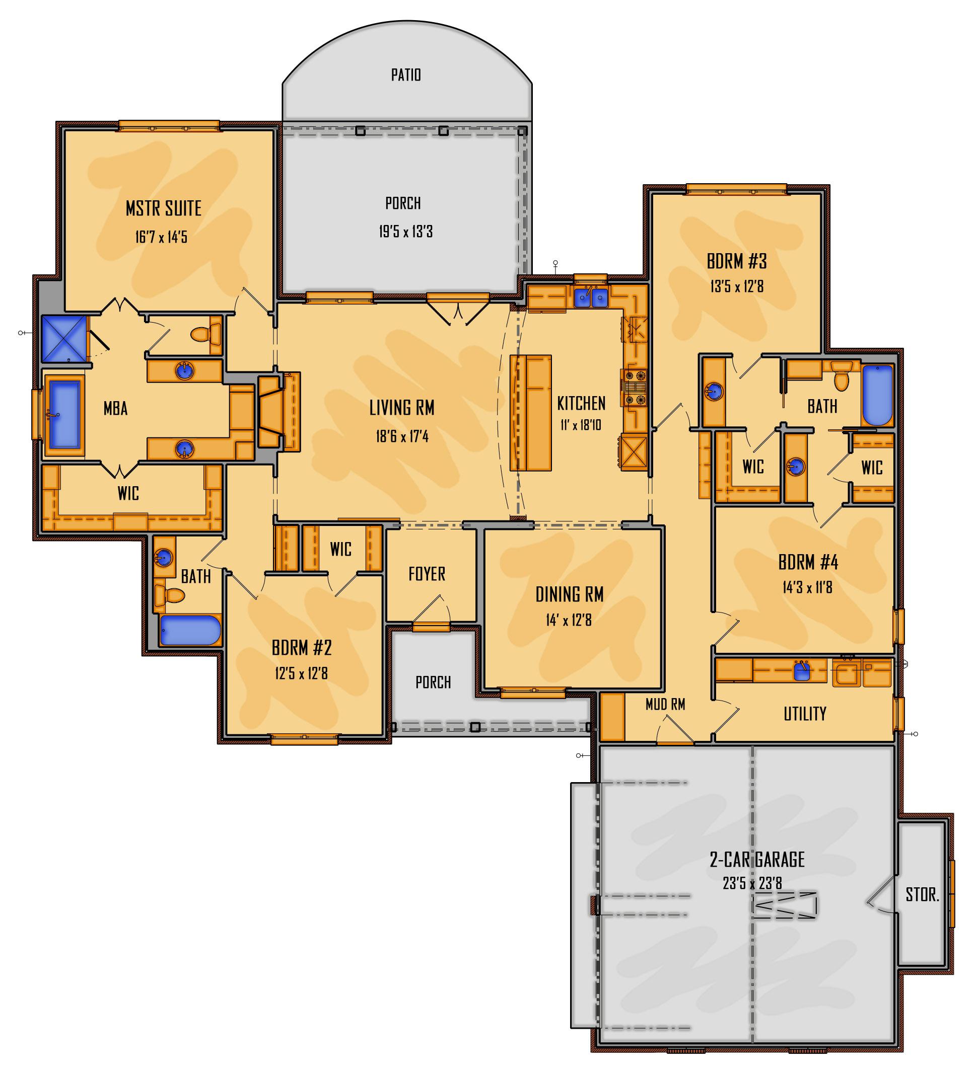 04-18 1st Floor Rendering