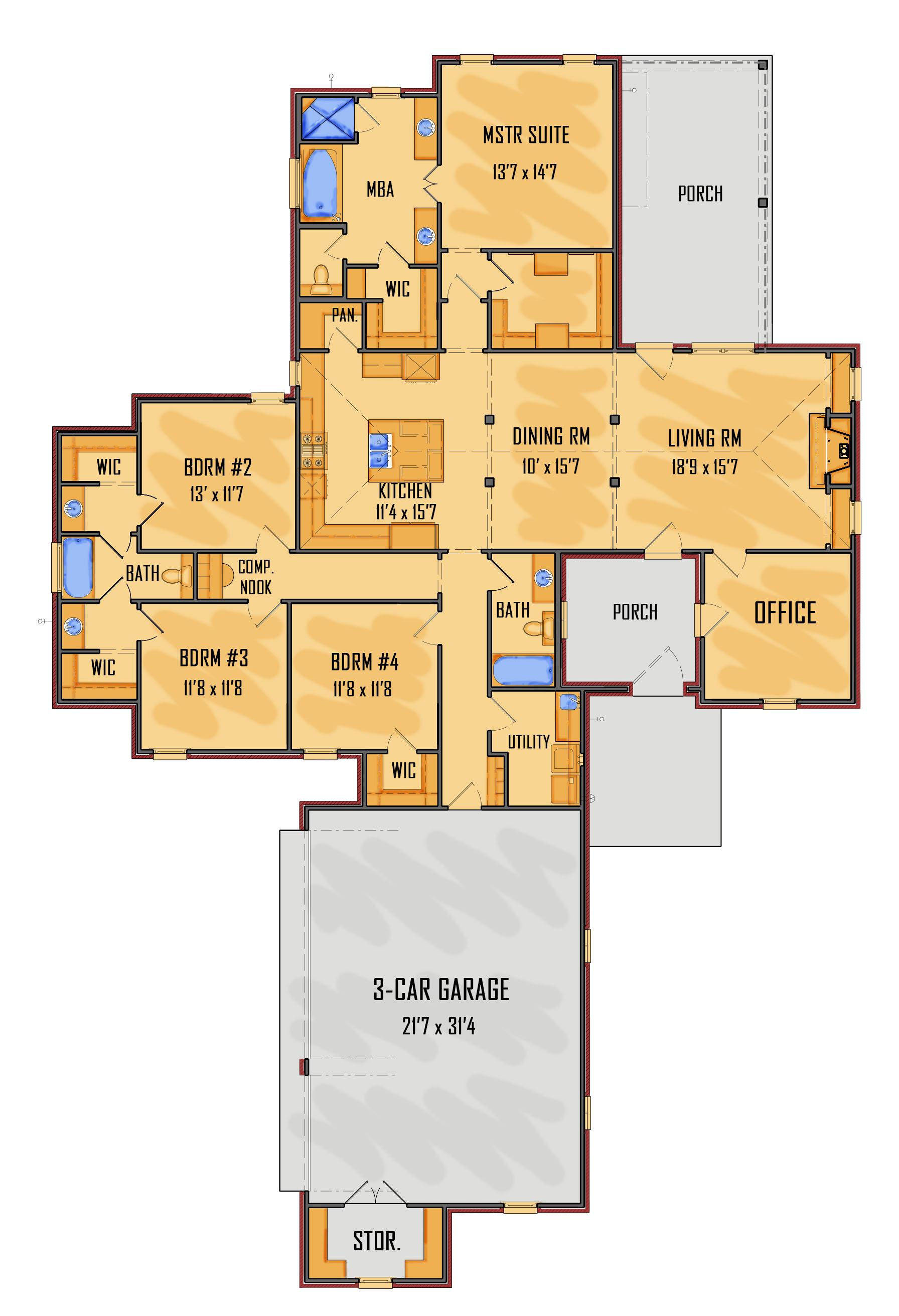 105-12A Floor Rendering 1