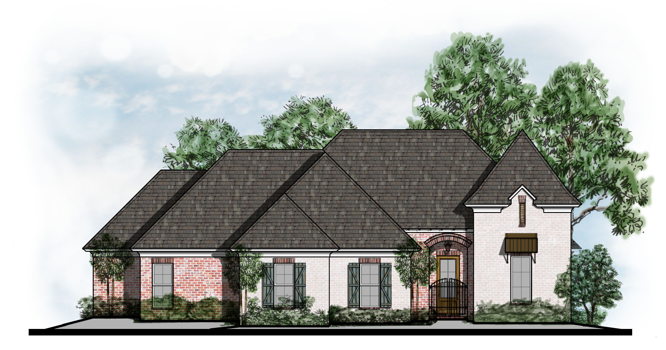 105-12A Front Elevation