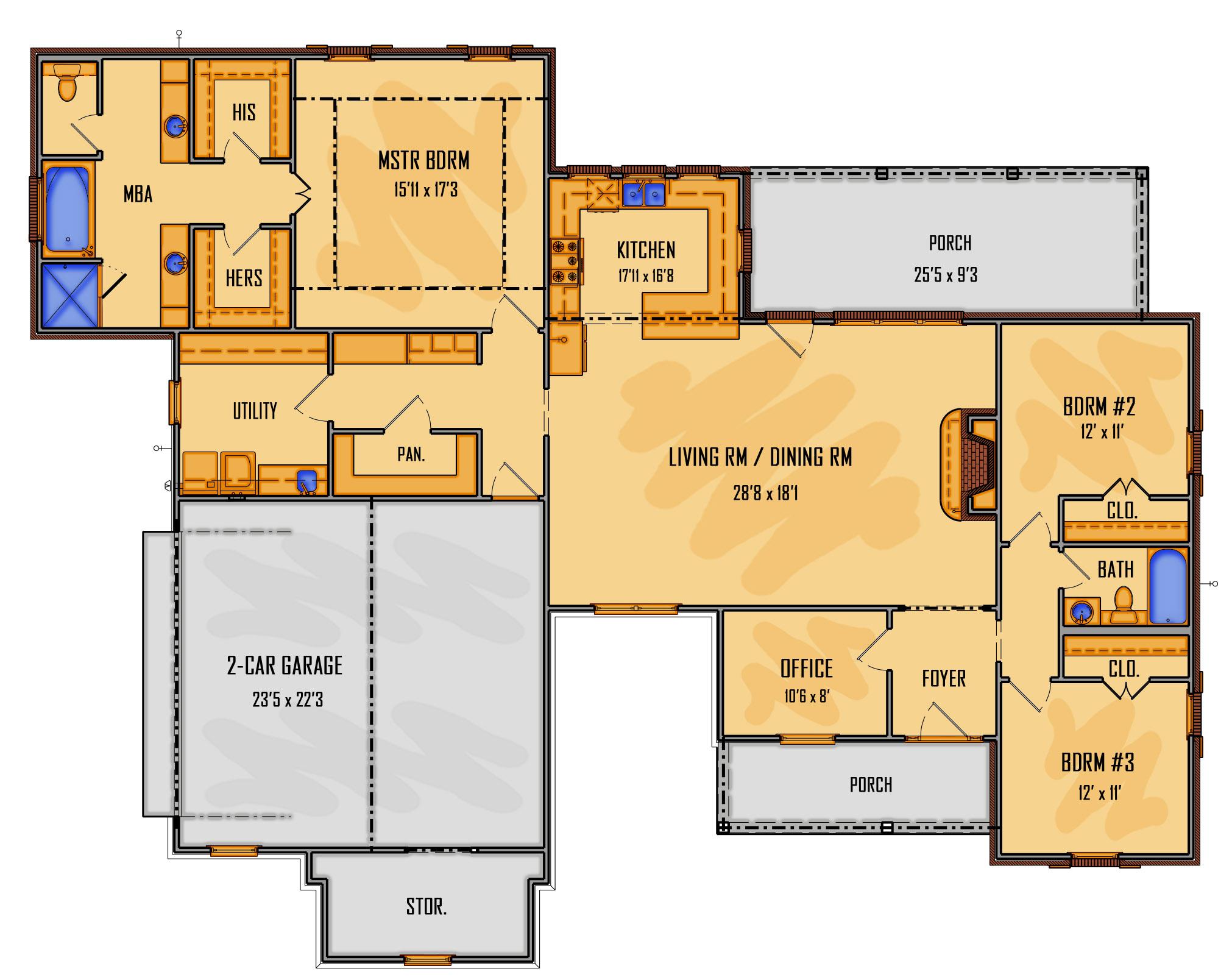 135-18 1st Floor Rendering