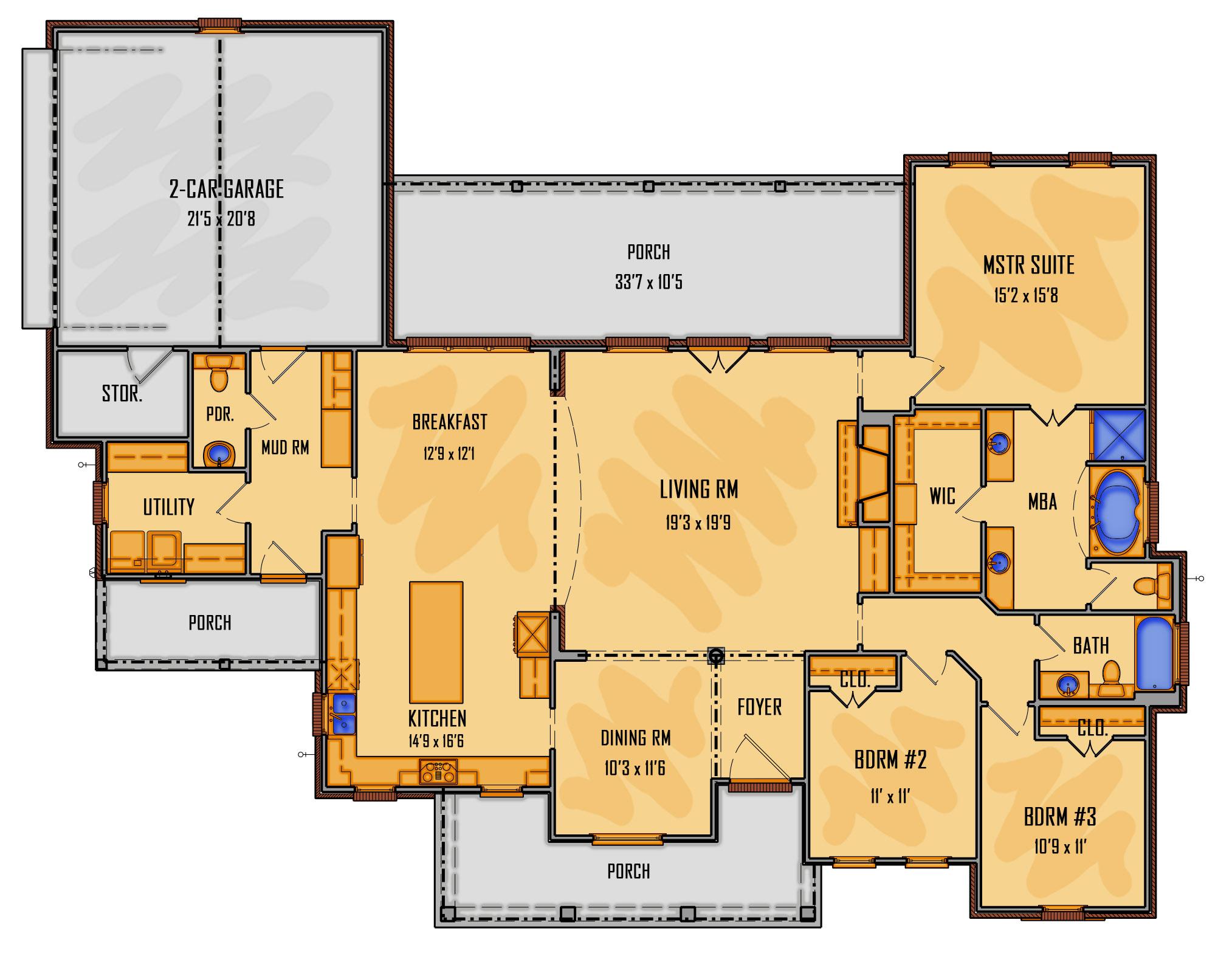252-18 1st Floor Rendering