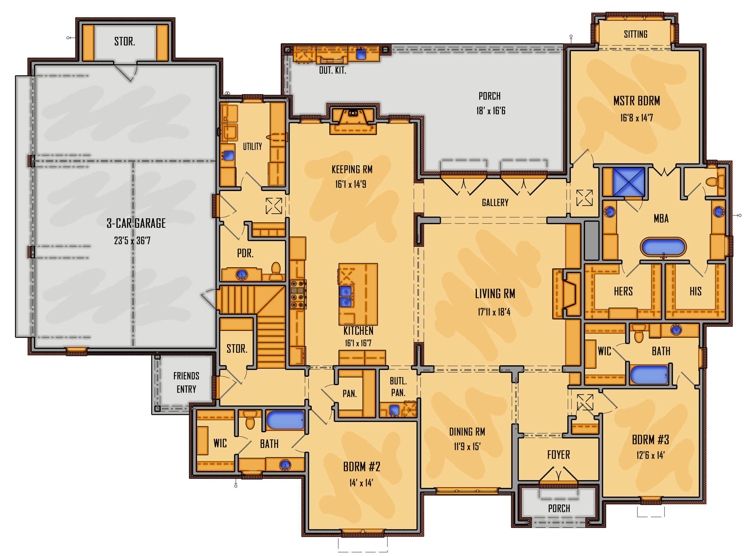 284-17 1st Floor Rendering