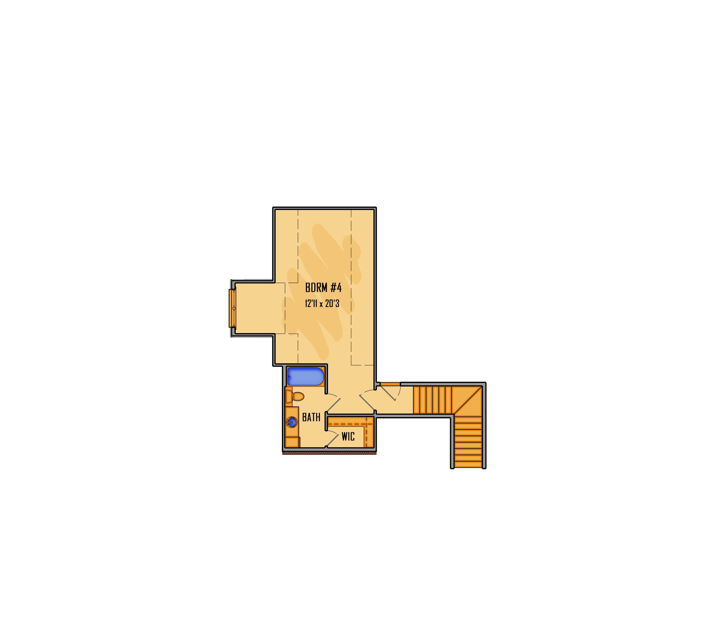 284-17 2nd Floor Rendering