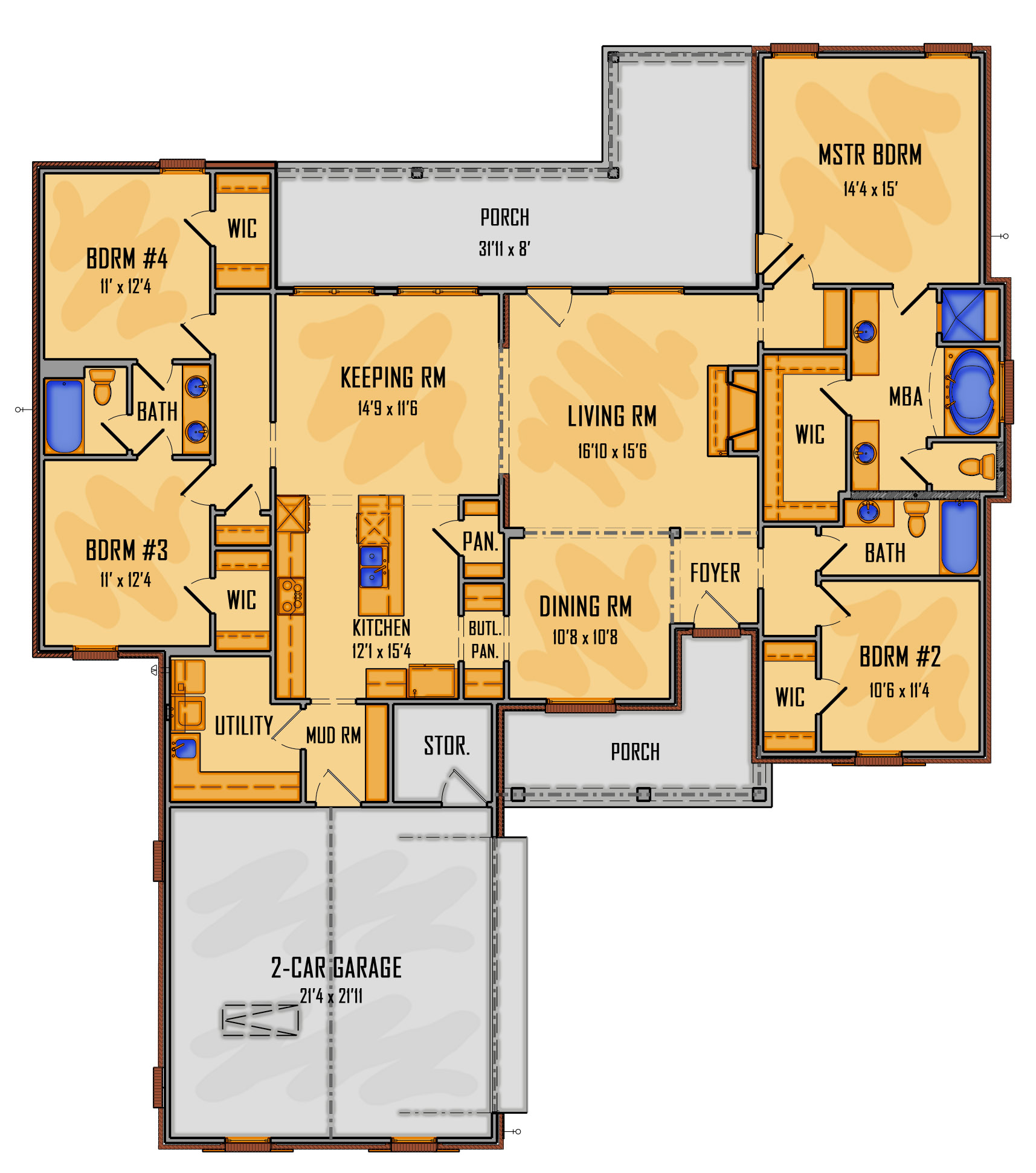 35-18 1st Floor Rendering