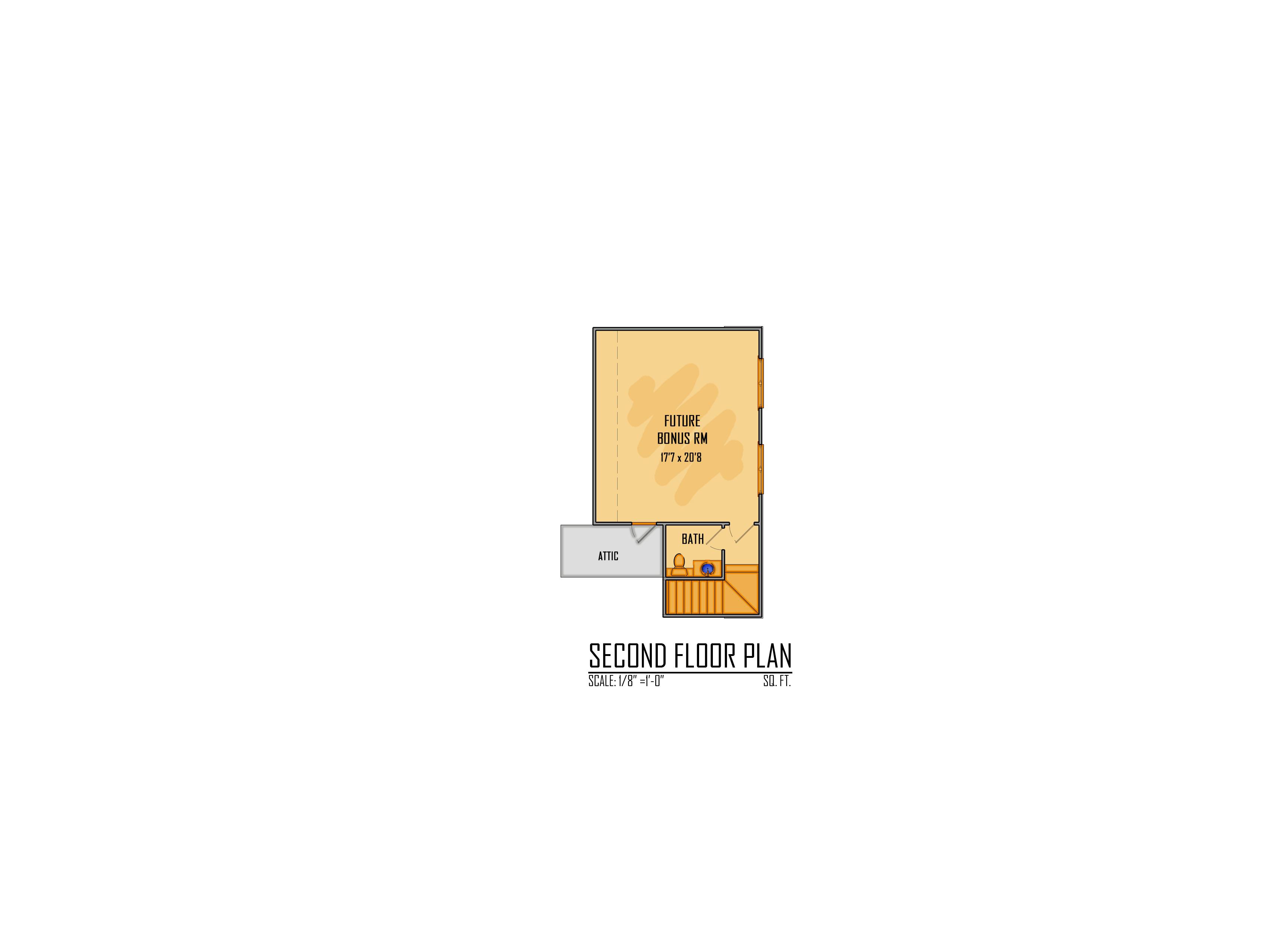 61-18 2nd Floor Rendering